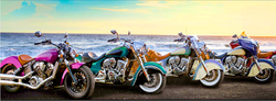 Les motos sont permises