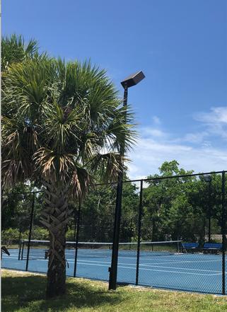 Notre terrain de tennis