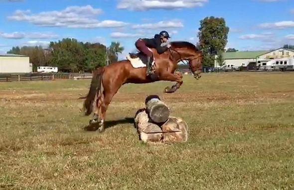 Harriet McCord Jumping
