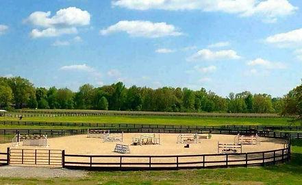 Oak Grove Farm And Equestrian Center Outdoor Arena