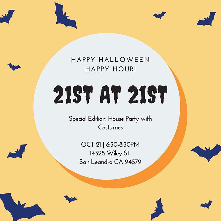 21st at 21st - Halloween Party!