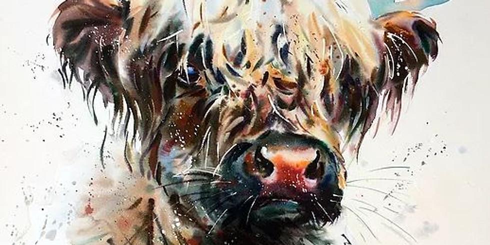 DEMONSTRATION   JAKE WINKLE      Watercolour