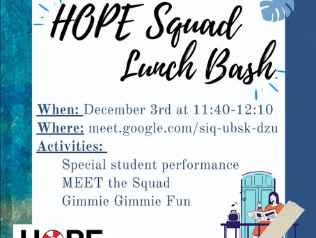 Lunch Hope Squad