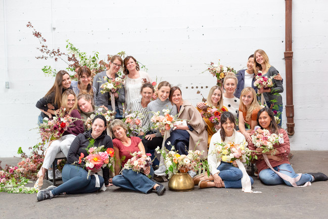 Reminiscing on a beautiful workshop by Gabriela Salazar from La Musa de las Flores in Vancouver, BC