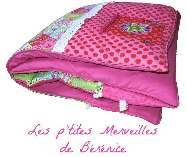 """Edredon tapis d'éveil pour bébé """"patchwork Gipsy"""""""