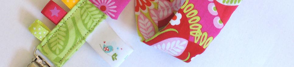 Attaches tétines / sucettes pour bébé