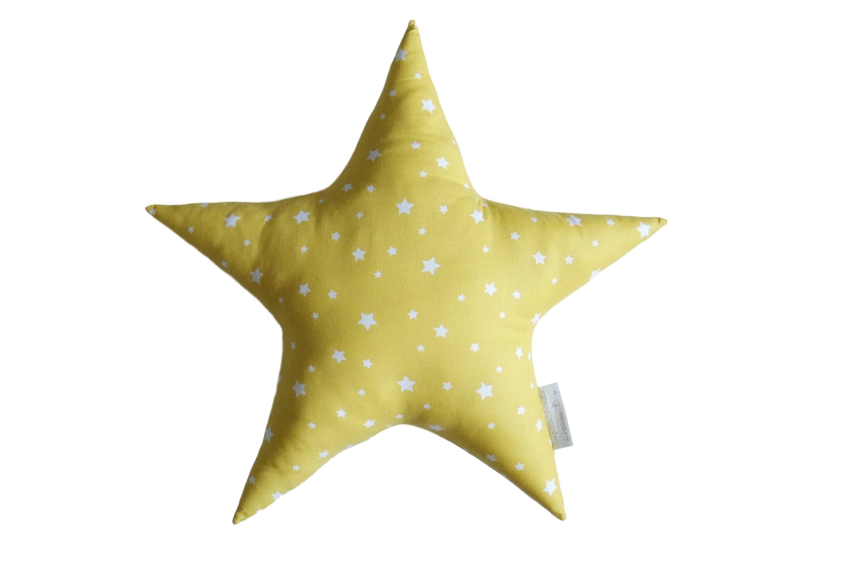 Coussin étoile coordonné