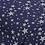 "Thumbnail: Coussin ""étoile"" marine & blanc"