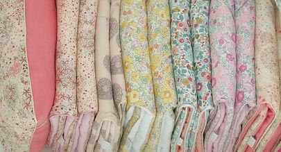 """Couvertures bébé gris, blanc, jaune """"Les p'tites Merveilles de Bérénice"""""""