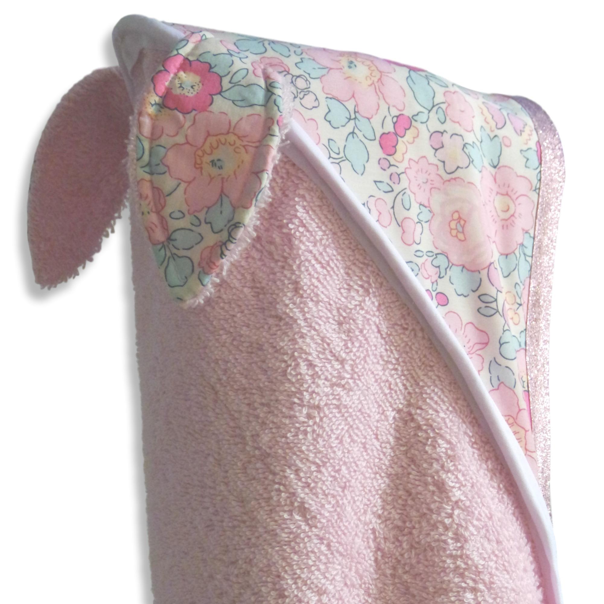 capuche cape de bain Betsy rose