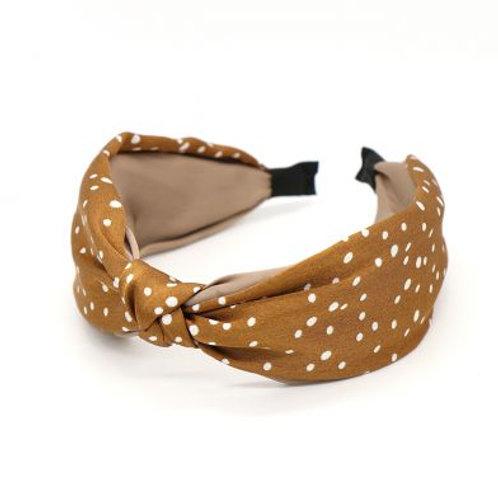 Fabric Headband in Spotty Design