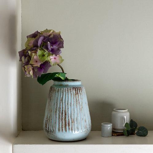 Small Ribbed Vase