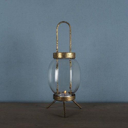 Glass Lantern Vintage Style