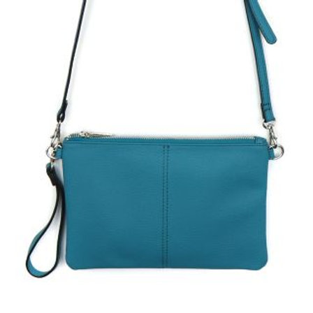 Vegan Leather Convertible Clutch Bag