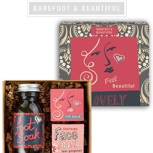 Barefoot & Beautiful 'Beauty Queen' Gift Box