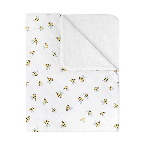 Cath Kidston Quilted Baby Blanket in Bee Design