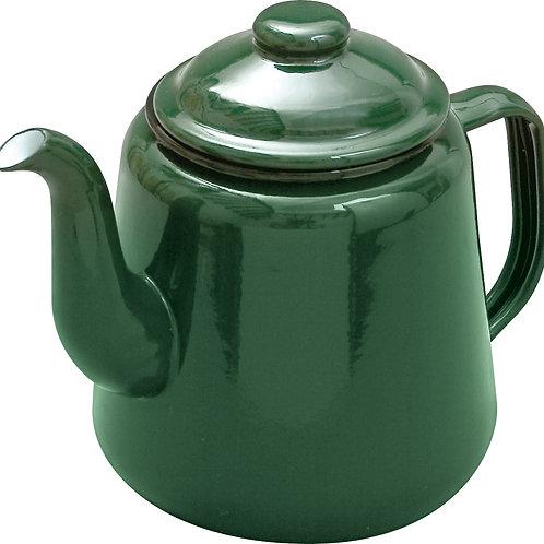 Enamel Teapot - Green