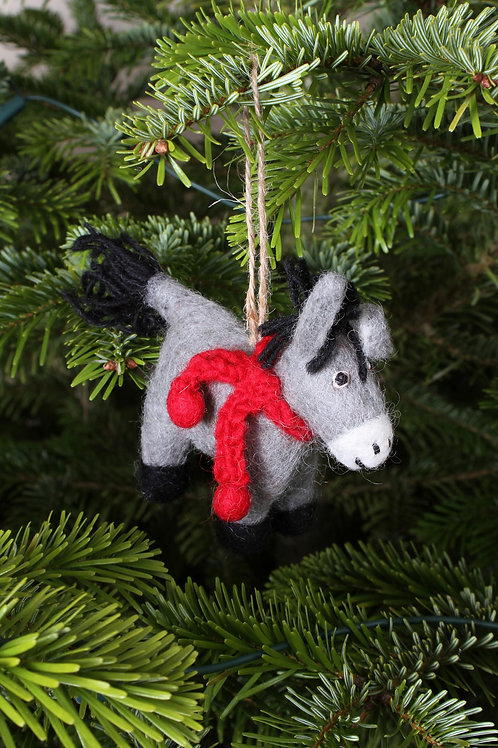 Dennis the Donkey Decoration
