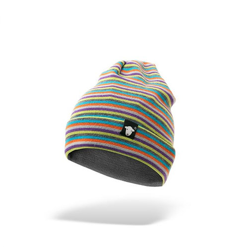 Herdy Striped Beanie Hat