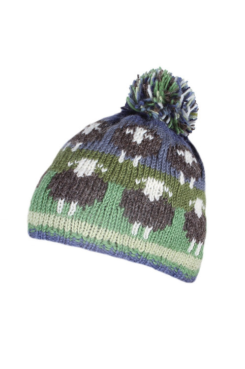 Herdwick Sheep Bobble Hat
