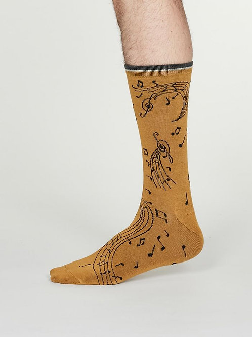 2 Pairs Mens Thought Socks