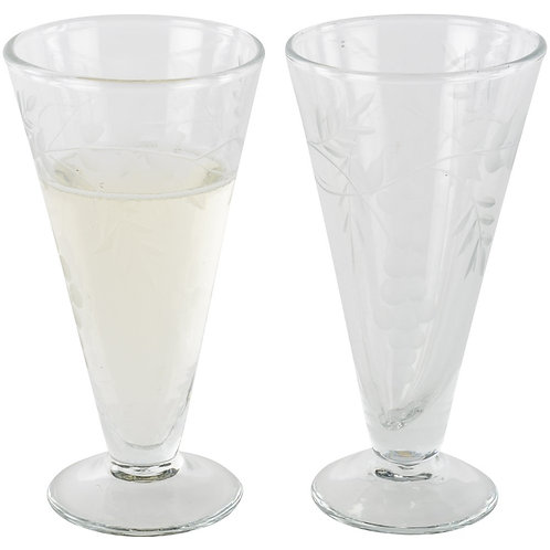Prosecco Glass Etched