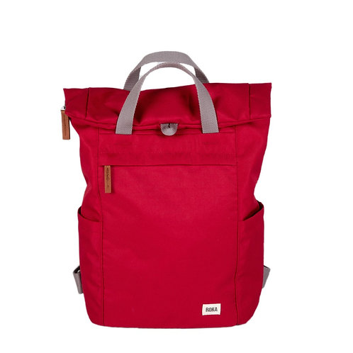 Roka Sustainable Backpack Small - Volcanic Red