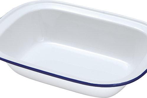 Enamel Pie Dish - 16cm