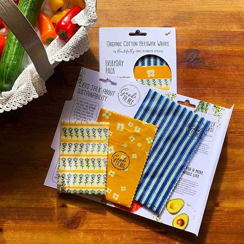 Wax Wraps - Set of 3