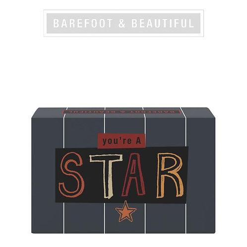 Barefoot & Beautiful 'Star' Soap