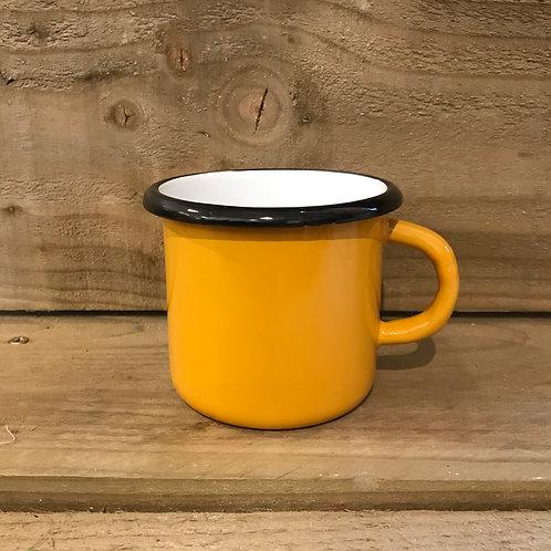 Enamel Mug - Mustard