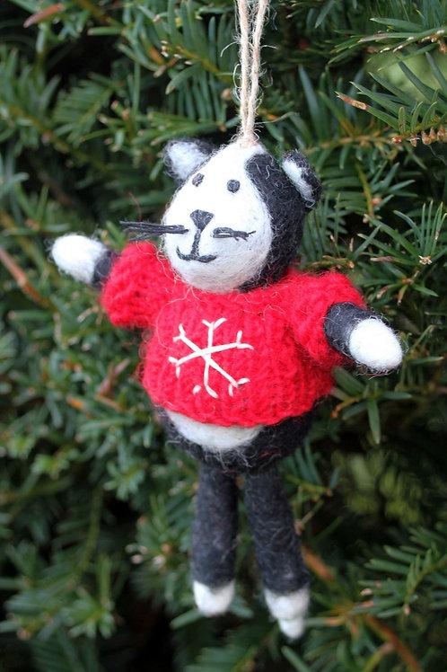 Cuthbert the Cat Decoration
