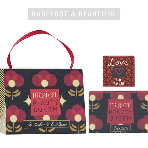 Barefoot & Beautiful 'Beauty Queen' Gift Handbag