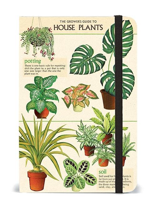 Cavallini Notebook House Plants Design - Small
