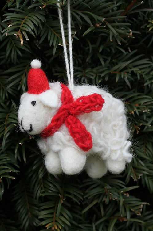 Cosy Sheep Decoration