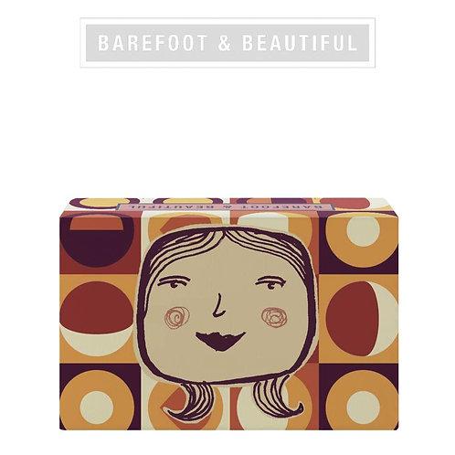 Barefoot &  Beautiful 'Keep Smiling'  Soap