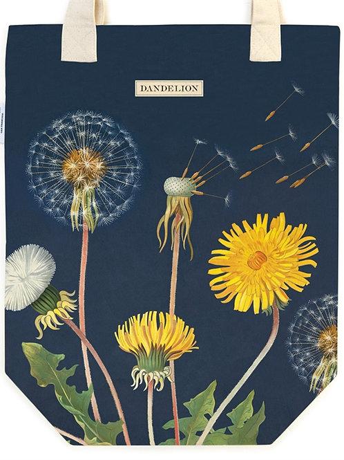 Cavallini Tote Bag in Dandelion Design