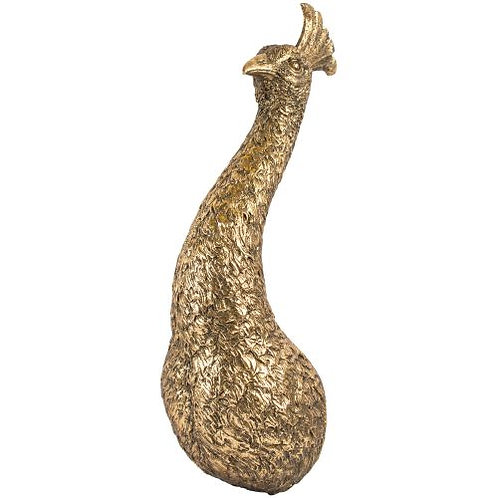 Golden Peacock Wall Decoration