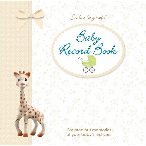 Sophie the Giraffe Baby Record Book