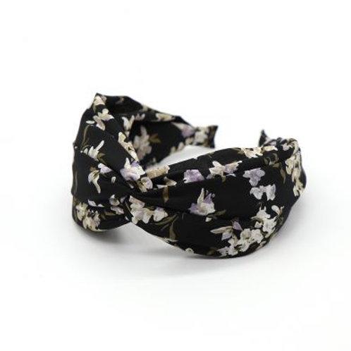Fabric Headband in Vintage Floral Design