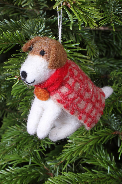 Geoffrey the Airedale Decoration