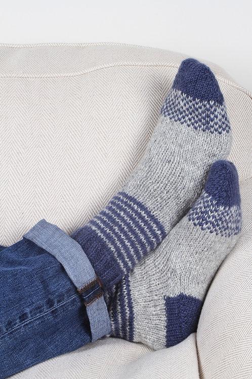 Sofa Socks - Grey Mix