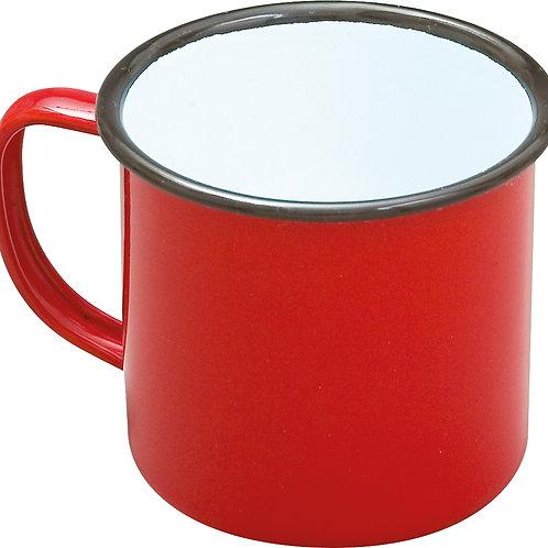 Enamel Mug - Red