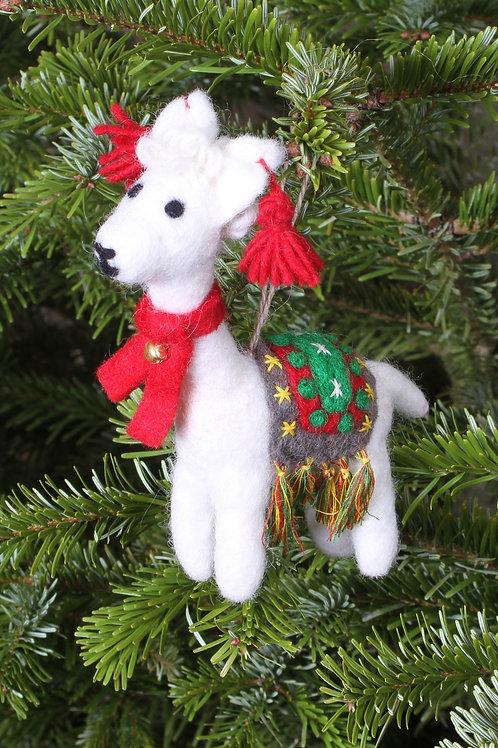 Linda the Llama Decoration