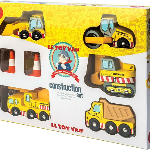 Le Toy Can Construction Car Set