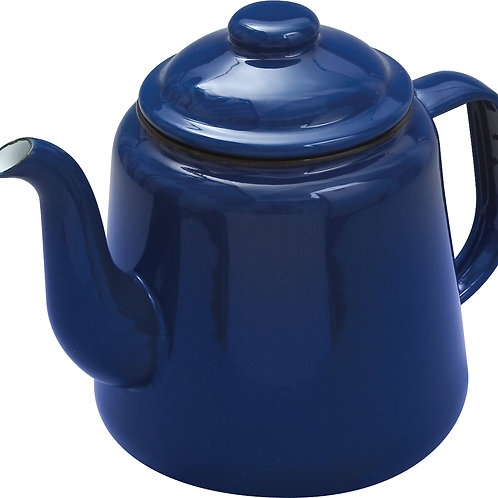 Enamel Teapot - Blue