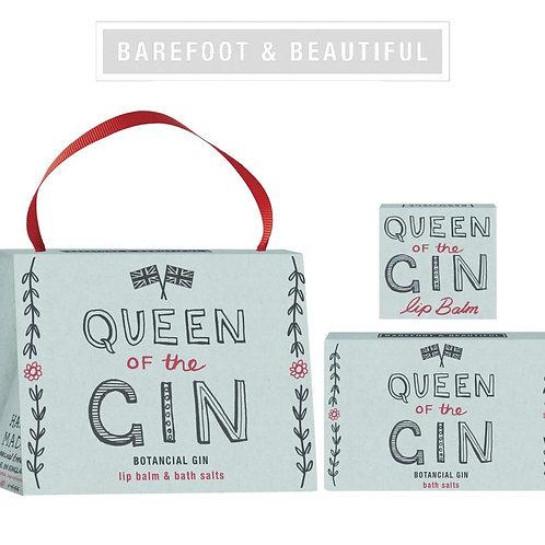 Barefoot & Beautiful 'Queen of Gin' Gift Handbag