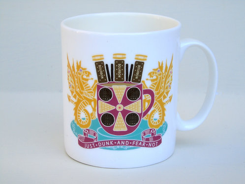 Carlisle 'Just Dunk and Fear Not' Crest Mug