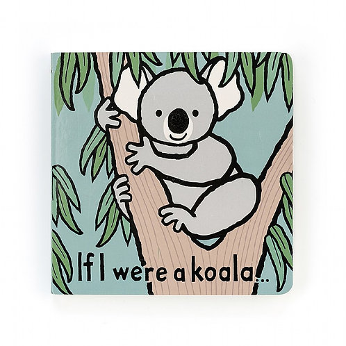 Jellycat If I Were a Koala Book & Benji Koala