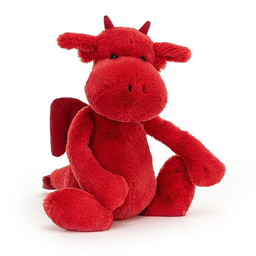 Jellycat Bashful Red Dragon